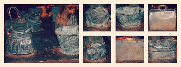 mesa bolsos