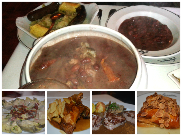 collage comida