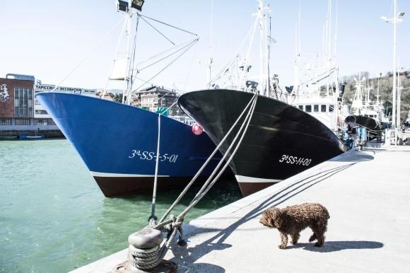 puertos barcos lana
